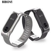 Replace To Xiaomi Mi Band 2 Smart Wristband Metal Strap For Xiaomi Mi Band 2 Bracelet