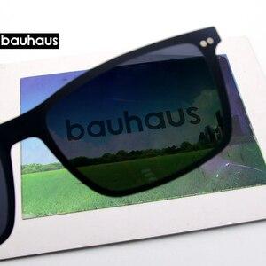 Image 5 - Gafas de sol ultrafinas para hombre, lentes ultrafinas con clip en marco óptico borde completo Vintage para miopía, antirreflejos/UV