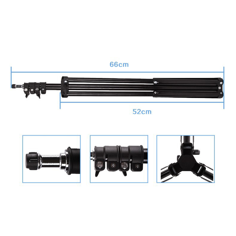 Image 5 - 2x Godox Ultra Slim LEDP260C 256pcs LED Video Light Panel Lighting Kit +2m Stand + Controller 30W 3300 5600K Dimmable BrightnessPhotographic Lighting   -