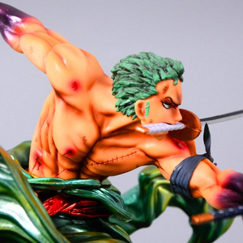 24 cm une pièce Roronoa Zoro Statue trois mille monde bataille ver Figure jouet PVC nouvelle Collection figurine Action jouets cadeau - 5