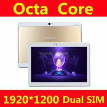 2017 New Tablets Android 6.0 Octa Core 64GB ROM Dual Camera and Dual SIM Tablet PC Support OTG WIFI GPS 3G4G LTE bluetooth phone