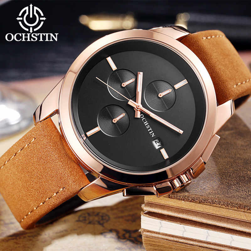 2017 nuevos relojes de pulsera de cuarzo para hombre, relojes de pulsera deportivos militares de marca de lujo, relojes de pulsera de cuarzo para hombre, reloj de cuero