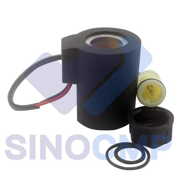 New Solenoid Coil for Volvo EC140 EC160 EC210 EC240 EC290 EC360 Excavator