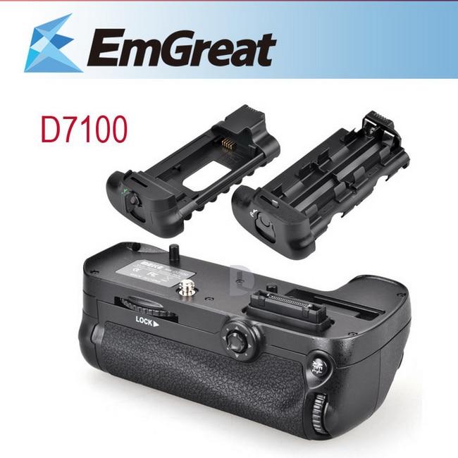 ВОЗЬМИТЕСЬ МАЙКЕ Аккумулятор для Nikon D7100 D7200 EN-EL15 Multi-Power Grip Аккумулятор с 2 Держатели для EN-EL15 AA батареи