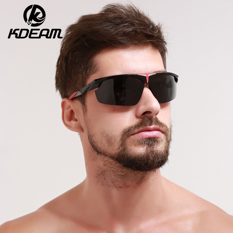 e2e656108c KDEAM 2017 New Cool Sport Sunglasses men Polarized Sun Glasses Sports  Goggle Women Oculos De Sol