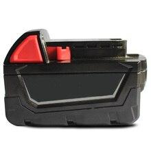 M18 Электродрель Батарея Пластиковый Корпус Для Милуоки 48-11-1815 M18 18 В 3.0Ah 4.0Ah 5.0Ah Аккумулятор пакет