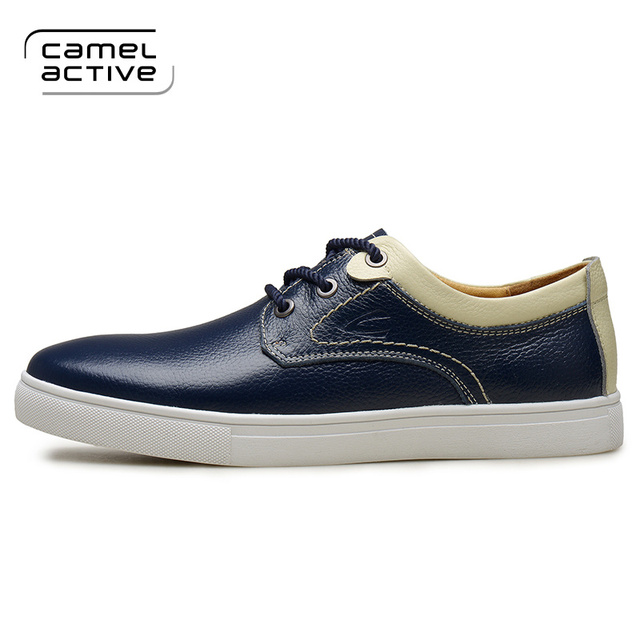 Camel Active New Arrival High Quality men shoes genuine leather Waterproof  Casual shoes young Men's Shoes