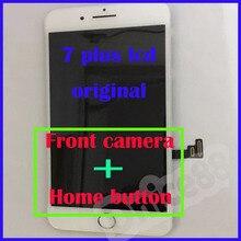 Это ЖК-дисплей для Apple iPhone 7 Plus, это не только оригинальный экран, но и приносит фронтальную камеру и домашнюю кнопку, хорошее качество дисплея.