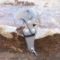 Multifunções Em Aço Inoxidável mosquetão camping caminhadas gancho gravidade ganchos escalada garra sobrevivência Dobrável ferramenta ao ar livre