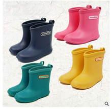 4be7a5f11 Envío Gratis bebé 2019 niños zapatos de niñas de invierno Botas de lluvia de  moda bebé