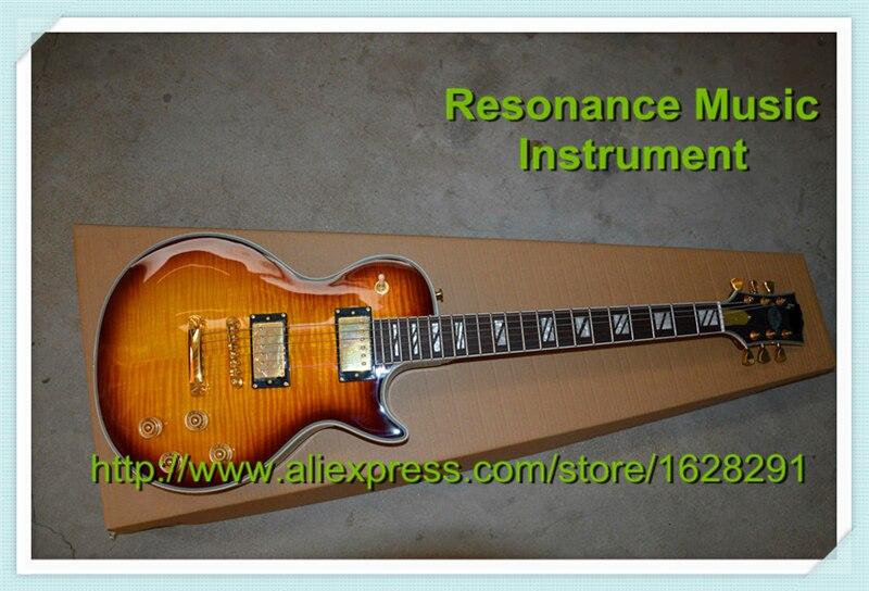 Shop China Guitar LP Supreme Vintage Sunburst Ebony Fretboard Guitar & Kit Available