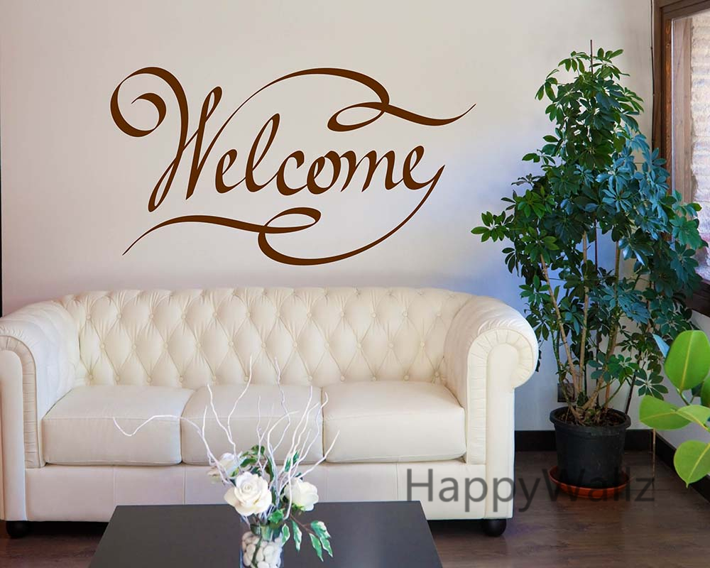 Welcome Home Family Quote Wall Stickers Family Welcome Quote Wall ...