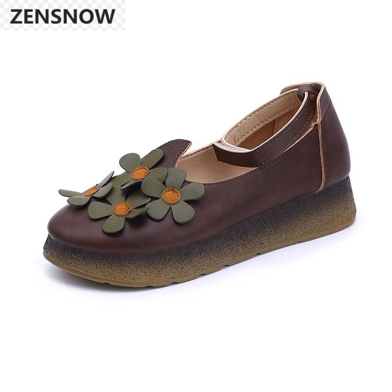 In The Spring Of 2018 New Korean Students A Single Word Retro Sandals Buckle Shoes Fashion Women Shoes All-match Harajuku