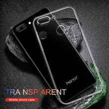 Soft Case For Huawei Honor 9 Lite TPU Silicon Transparent Fitted Clear Bumper Back Cover 8 lite