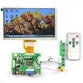 """7 """"Raspberry Pi Сенсорный ЖК-Экран TFT Монитор AT070TN90 с Сенсорным Экраном Комплект HDMI Вход VGA Водитель Борту"""