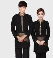2017 nowy hotel uniform dla restauracji fast food jednolite chińskiej restauracji kelner kelnerka jednolity prac clothing