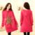 Las nuevas 2016 mujeres embarazadas, además de terciopelo grueso otoño e invierno suéter capa larga sección de mujeres de cobertura