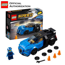 LEGO Building Blocks Bugatti Chiron Cars Stacking 181pcs Stacking Bloks Toy For Children Speed Champions Series Brinquedos 75878(China)