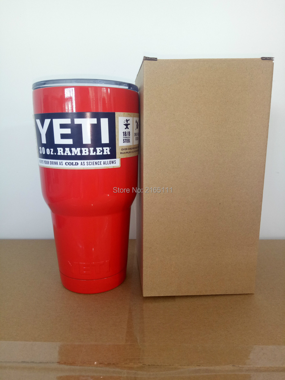 Red Color <font><b>Yeti</b></font> Cooler <font><b>Cup</b></font> <font><b>304</b></font> <font><b>Stainless</b></font> <font><b>Steel</b></font> <font><b>30</b></font> <font><b>oz</b></font> <font><b>YETI</b></font> Rambler Tumbler Vehicle Beer Mug Double Wall Bilayer Vacuum <font><b>Insulated</b></font>