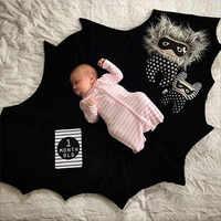 INS bébé Batman élégant Elf noir héros tapis de jeu enfants bambin couverture couverture garçons filles couette jouet tapis tapis lapin coussin