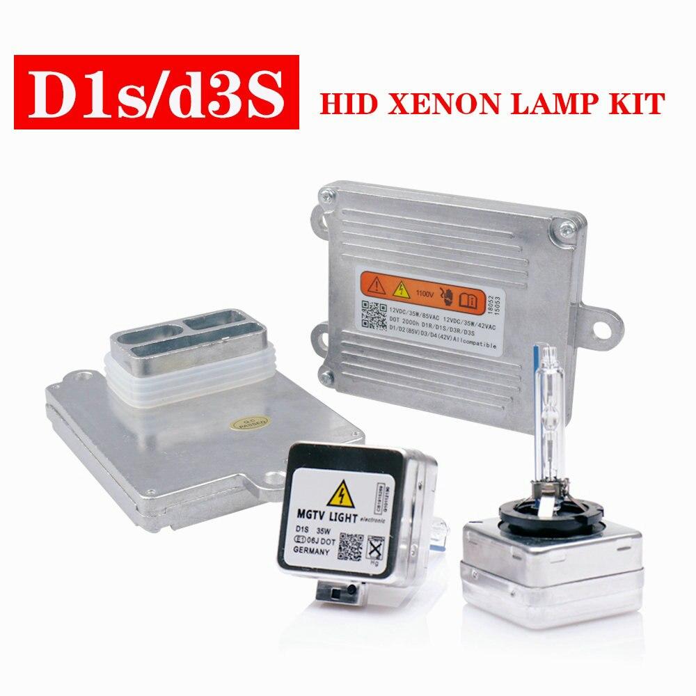 D1S D3SFast Start HID xénon Kit Ballast D1 ampoule pour Auto phare lampe lumière voiture phares ampoules remplacement