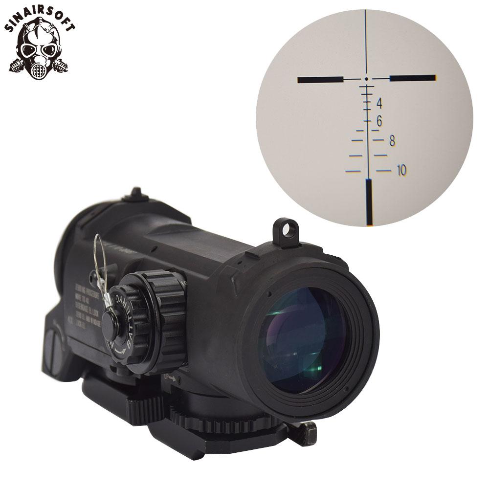 Tactical Rifle Scope DR Staccabile Rapido Fisso Più 4X Sight Doppio Ruolo di Airsoft Scope Magnificate Scope Per La Caccia