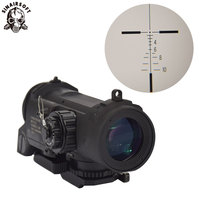 Tactical Rifle Scope DR Quick Detachable Fixed Multiple 4X Dual Role Sight Airsoft Scope Magnificate Scope For Hunting