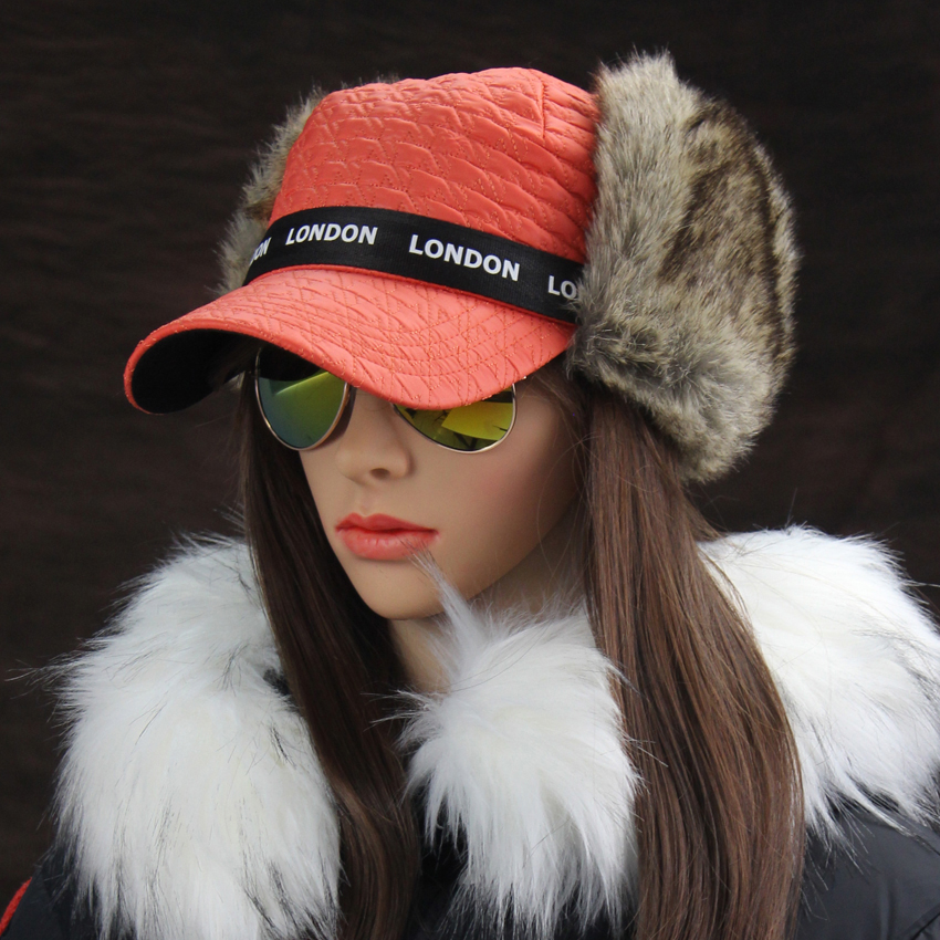 Ingenious Winter Hats Women's Bomber Hat Russian Ushanka British Style London Earflap Trapper Cap Thermal Pilot Aviator Trooper Snow Caps Driving A Roaring Trade