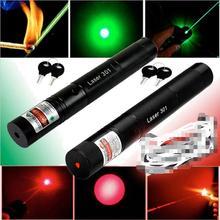 SDLaser 301 5 мВт Высокая мощность 532nm зеленый 650 нм Красный 405 нм фиолетовый лазерный указатель ручка масштабируемый лазер