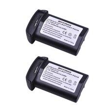 2 шт. 11,1 В 3200 мАч LP E4 LP-E4 E4N литий-ионные аккумуляторы Accu для Canon EOS 1D Mark 3 III 1DX Mark 4 IV 1DX DSLR цифровой камеры