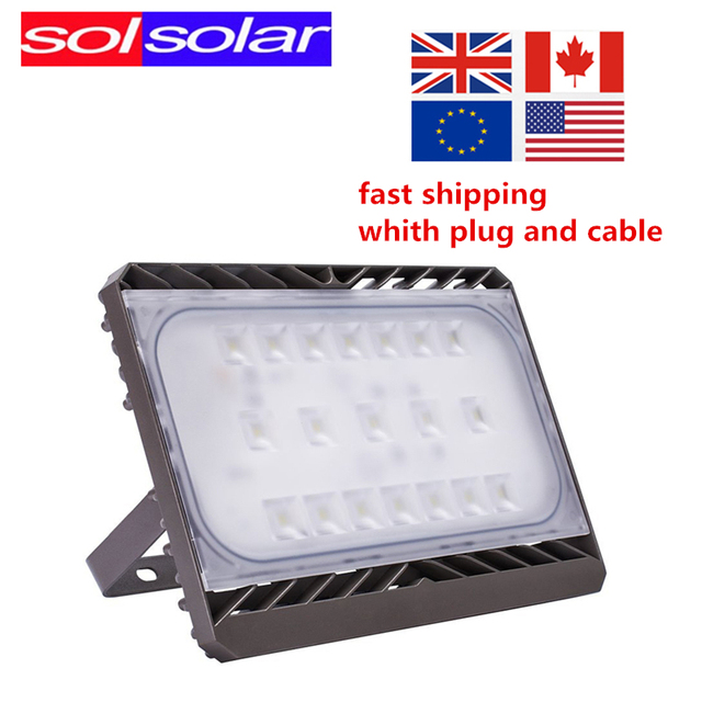 cree led flood light 30w 50w 70w 100w ac 110v 220v waterproof ip65