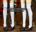 white  tights high For BJD SD16 DD/DY 1/4  1/3  Doll Clothes Accessories
