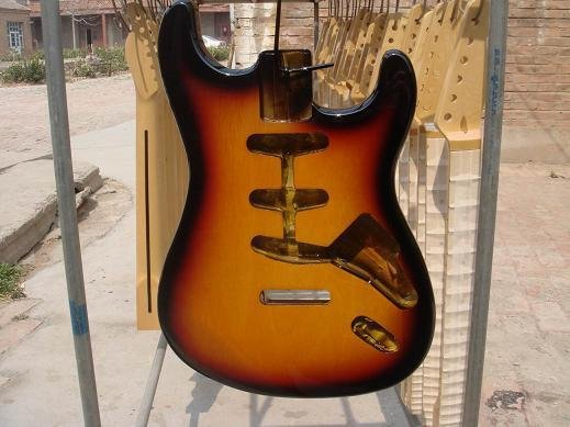 New high quality Unfinished electric guitar body china s guitar high quality unfinished tl electric guitar ash diy guitar real photos free shipping