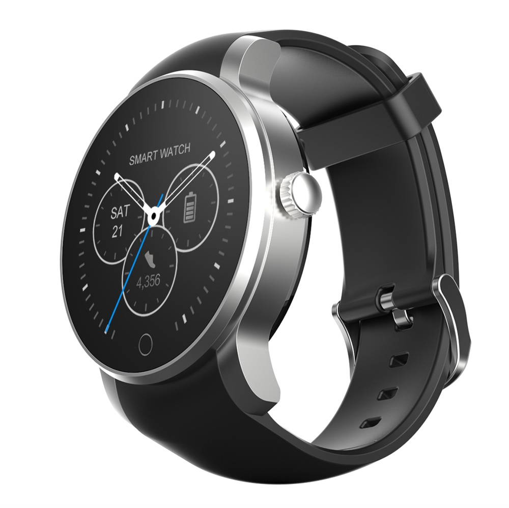 696 SMA 09 Waterproof Brand Smartwatch Bluetooth Heart Rate Monitor Sport Watch Alarm Phonebook Voice Record Android IOS - 2
