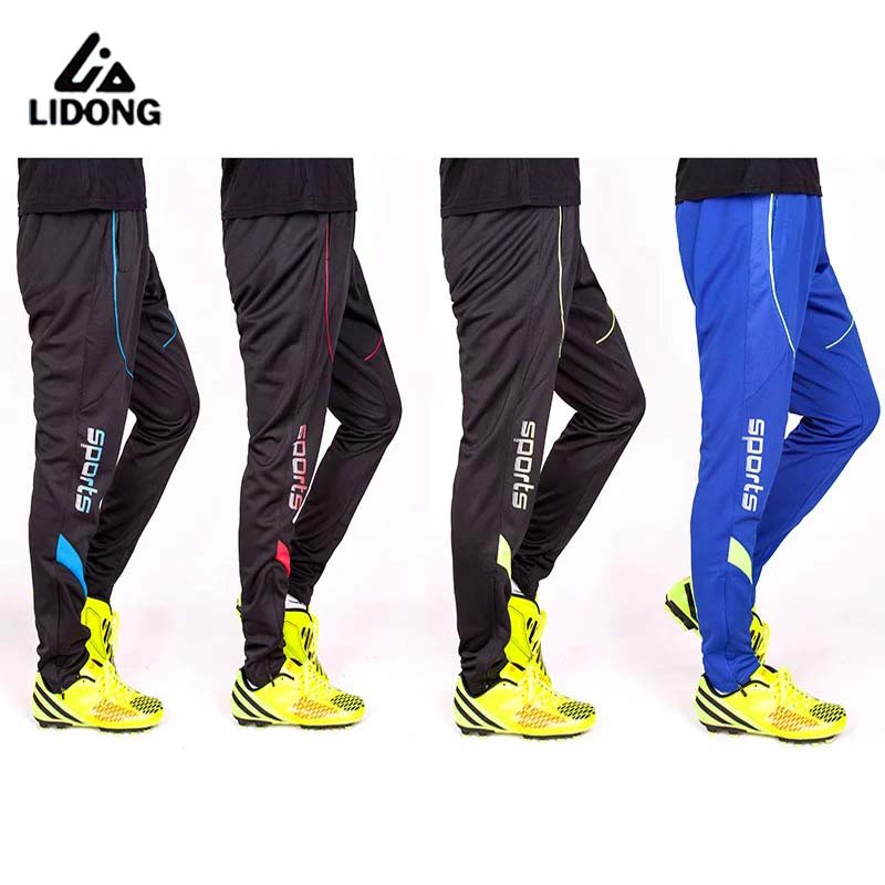 Sport Pants Men Football Joggers Breathable Skinny Jogging Running Tights Soccer Pant Training Trousers Mens Tracksuits Bottoms