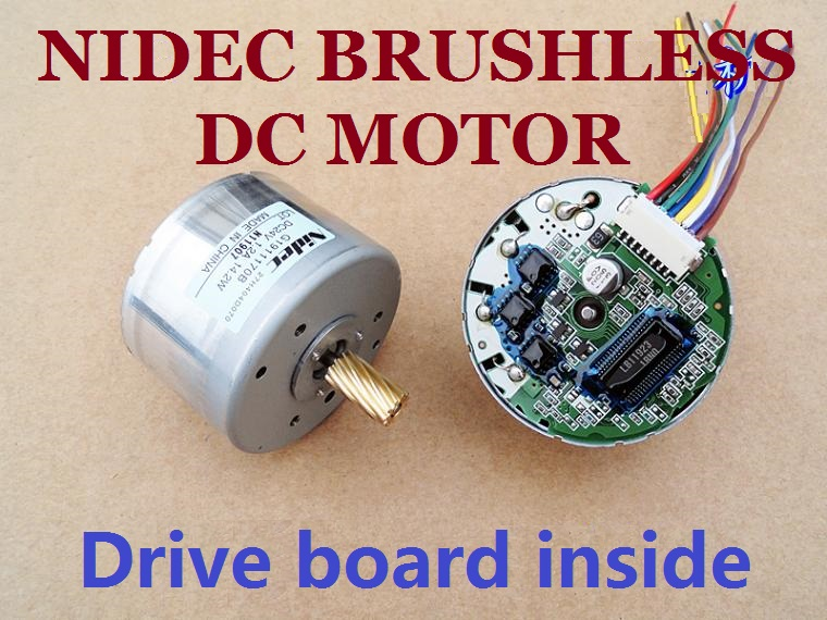 24V 1800 4300RPM Nidec Brushless Dc Motor Equipped With Pulser And Drive Board 24v 1800 4300rpm nidec brushless dc motor equipped with pulser and nidec motor wiring diagram at gsmx.co