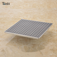 Special offer Rainfall Overhead Shower Head Square Wholesale And Retail 9