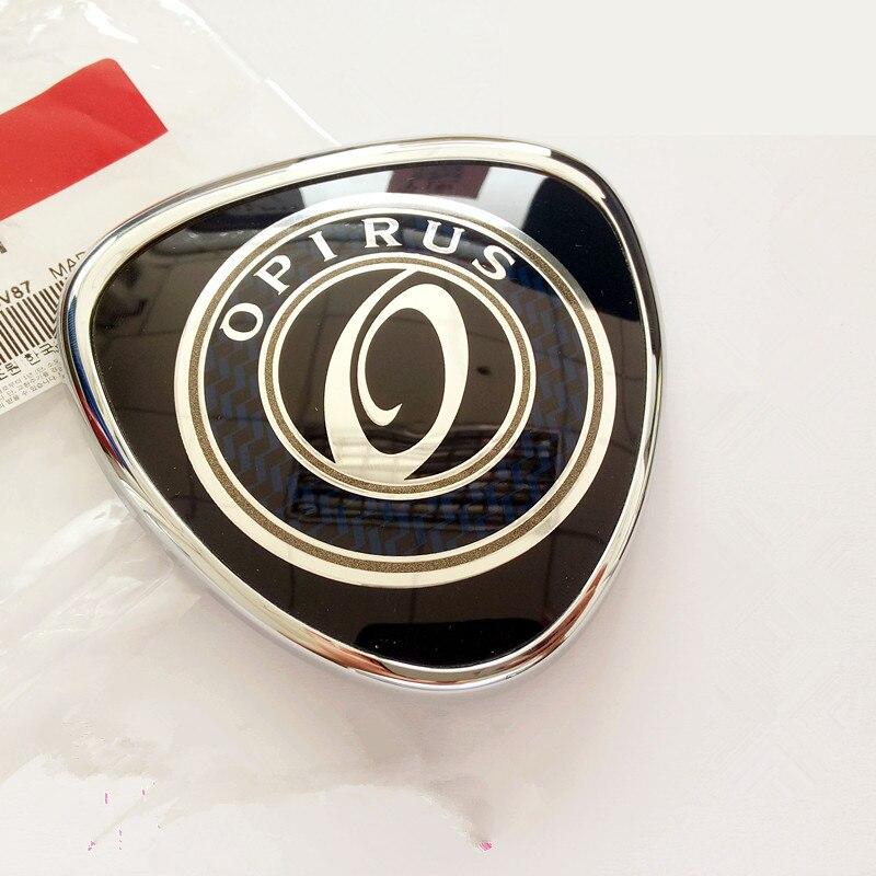traseiro bagagem capa sinal logotipo para kia opirus