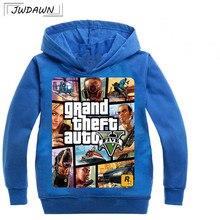 Kids Hoodies Boys Sweatshirt gta 5 Boys Outwear gta