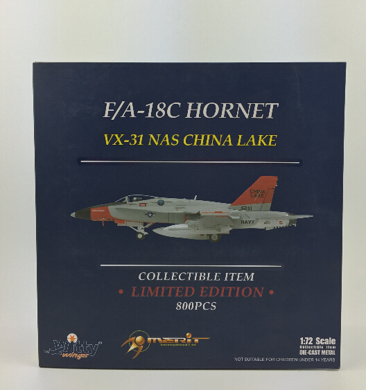 026-008 F/A-18C Witty the United States Navy, the United States Naval Air Station 1:72 Finished Model