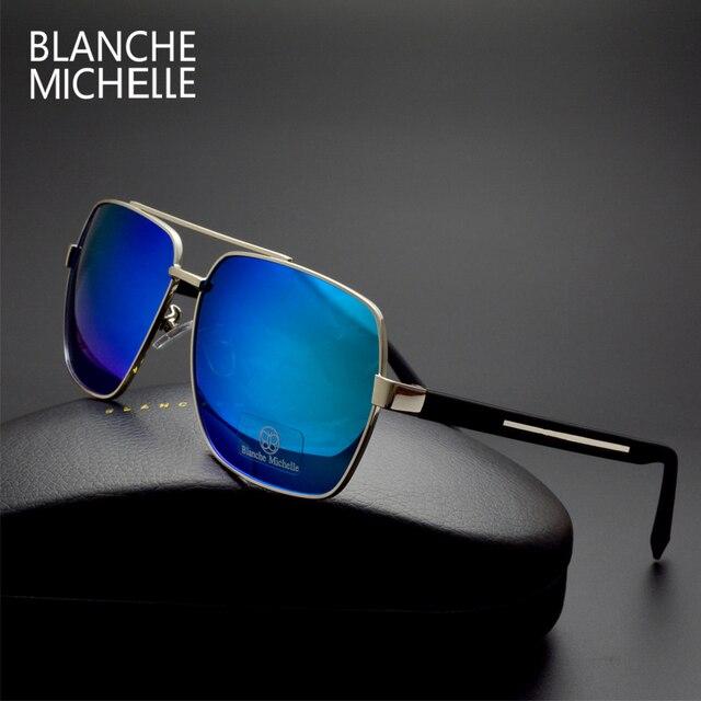 Comparar Alta calidad cuadrados gafas de sol hombres polarizado ...