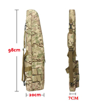 Outdoor Hunting Bag Tactical Rifle Gun Carry Backpacks About 98cm Airsoft Air Gun Paintball Rifle Protection Bags With Cushion