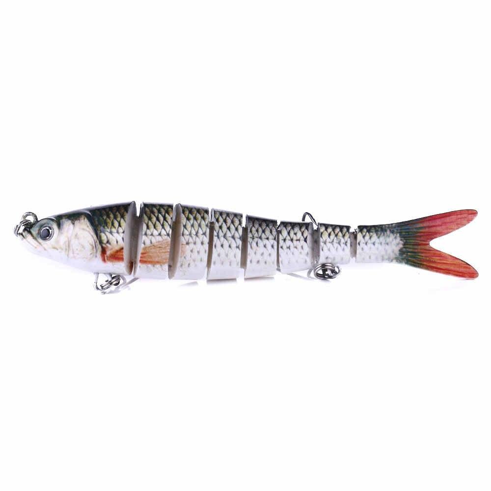 13.7Cm 27G Chìm Wobblers 8 Đoạn Mồi Câu Cá Đa Khớp Swimbait Mồi Câu Cá Bass Cau crankbait