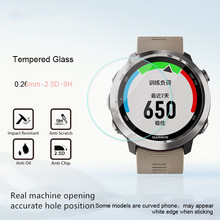 2PCS 3D FOR  Garmin Forerunner 645 Watch Tempered Film Sports Glass