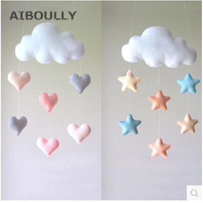 4pcs Photography Props Diy Felt Baby Decoration Star Shape Toy Colorful Woolen Photo Ornaments Welding Equipment