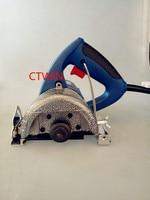 BoschType Gute Qualität 1200 Watt Marmor Cutter 110mm Elektrische Säge Stein Schneidemaschine 110 V/50-60 HZ Kreissäge Nützlich Elektrowerkzeuge