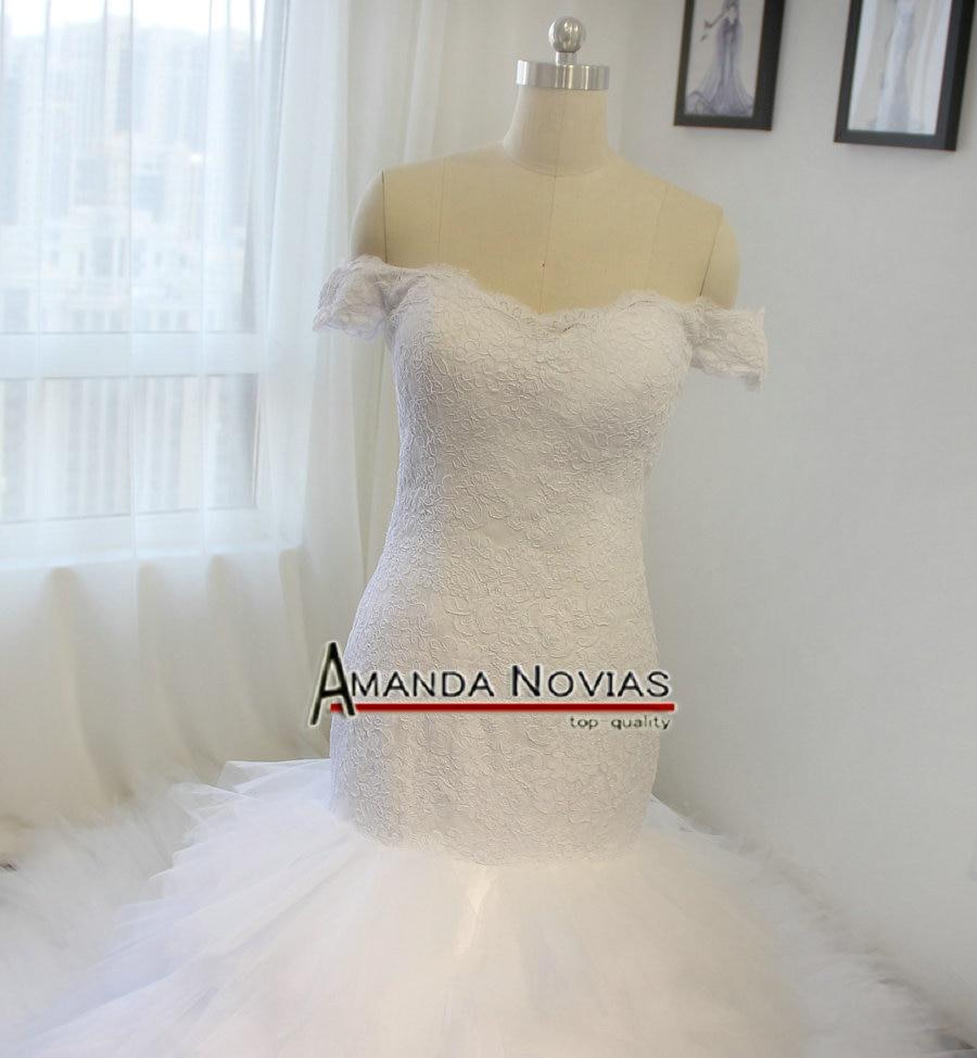 Beste Schnüren Sich Kleid Eine Linie Hochzeit Zeitgenössisch ...