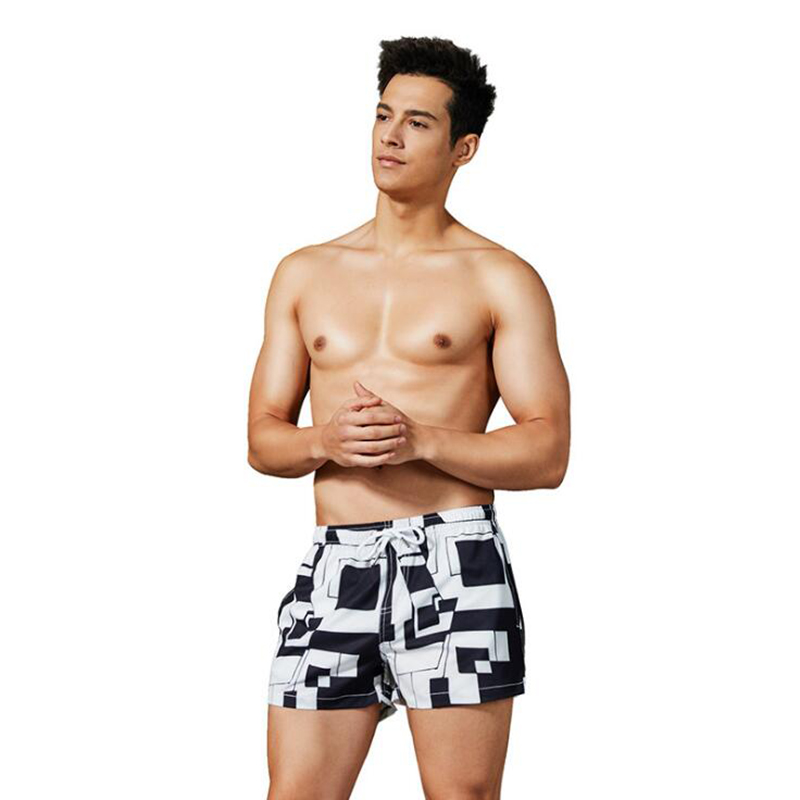 Board Shorts Men Sunga Masculina Modis Plaid Men's Shorts Summer Sea Beach Shorts Swimming Trunks Sungas De Praia Homens