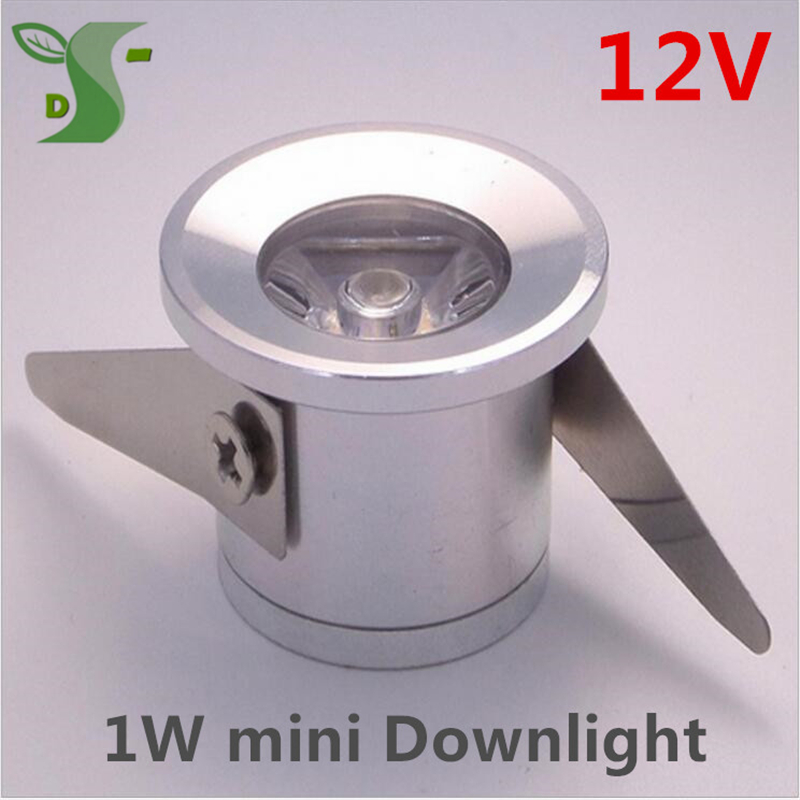 Us 320 1w Mini Led Lamp Spots Light Dc 12v Kast Lampje Led Downlight Foco Led Tech Cabinet Light With Driver Free Shipping 10pcslot In Downlights
