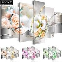 Zhui Star 5d Diy Diamond Embroidery Rose Orchid Diamond Painting Cross Stitch Full Rhinestone Mosaic Multi